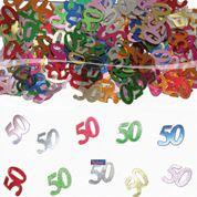 Tafelconfetti - sierconfetti - 50 jaar (05316F)