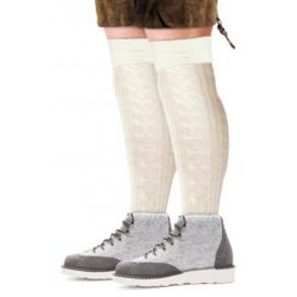 Tiroler sokken Ecru - maat 43/46 (11195P)