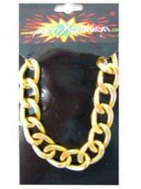 Pooier armband goud grof model (25278P)