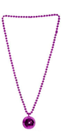 Ketting Discobal Paars (53722E)