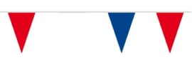 Vlaggenlijn Rood Wit Blauw - 10 meter (74747B)
