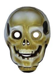 Plastic masker doodshoofd (61158E)