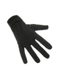 Handschoenen katoen zwart 20 cm XXS (12180P)