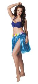 Hawairokje Blauw 45 cm (52423B)