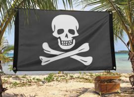 Piratenvlag -  90 x 60 cm (74162B)