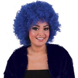 Pruik Hippie Blauw (57566E)