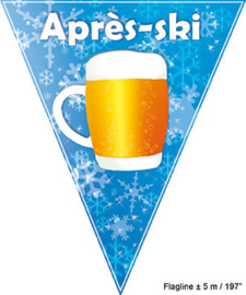 Vlaggenlijn Apres Ski - 5 meter (84200E)