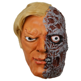 Masker half verbrand gezicht (60246W)