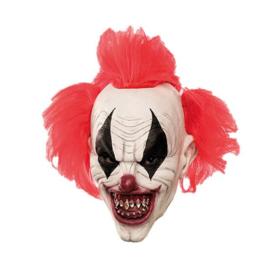 Masker duivelse clown punk haar (E108428W)