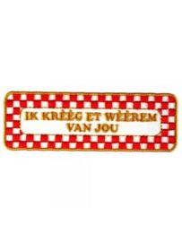Strijkapplicatie Brabant - Weerem (05015B)