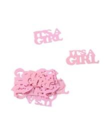 Tafelconfetti - sierconfetti  - It's a girl (P-60542GF)