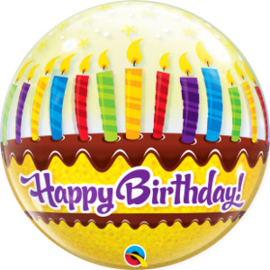 Bubble Birthday Candles & Frosting (10398Q)