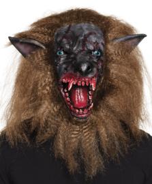 Masker bebloede Wolf (97545B)