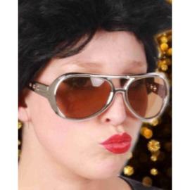 Elvis bril Zilver (30136P)