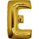 Folie Letter E - 100 cm Goud