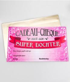 Cadeau-cheque SUPER DOCHTER (08PD)