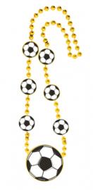 Ketting Voetbal goud (31200F)