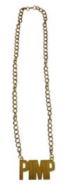 Gouden ketting Pimp (53393E)