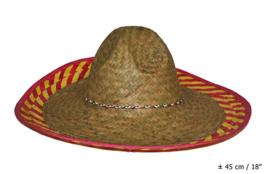 Mexicaanse hoed - sombrero (62246E)