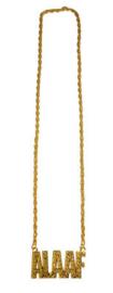 Gouden ketting Alaaf (53483E)