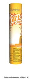 Confetti shooter goud 20 cm (gold-66268E)