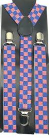 Bretel Amerika / USA  2 cm breed (6001GF)