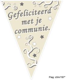 Vlaggenlijn Communie - 5 meter (84248E)