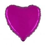 "Folie Hart 18"" - Violet Paars"