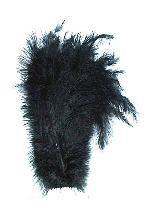 Piet veer zwart - 30 cm (64554P)