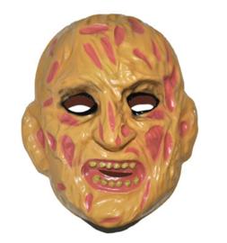 Plastic masker Freddy doodshoofd (61728E)