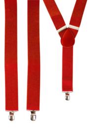 Bretel Rood 3,5 cm breed (10043P)