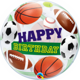 Bubble Birthday Sports Balls (34821Q)
