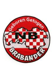 Applicatie Geboren en Getogen Brabander 11 cm (14976P)