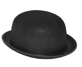 Bolhoed Charlie zwart - one size (63323E)