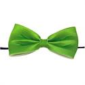 Vlinderstrik Groen 13,5cm (46505W)