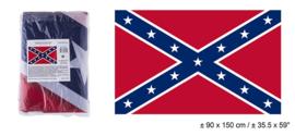 Vlag Zuidelijke Verenigde Staten - 90 x 150 cm (62642E)