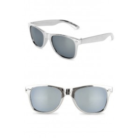 Blues Brother bril Zilver (30352P)