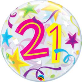 Bubble 21 jaar - Brilliant Stars (24167Q)