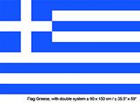 Vlag Griekenland - 90 x 150 cm (62334E)