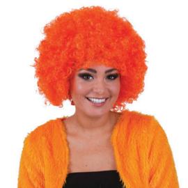Pruik Hippie Oranje (57568E)