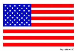 Vlag USA / VS - 90 x 150 cm (62158E)