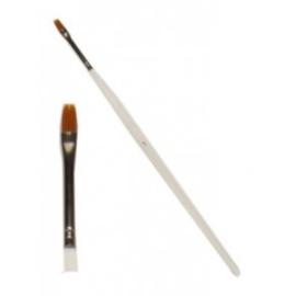 PXP penseel plat met ronde kop nr. 1 - breed 5 mm (40083)