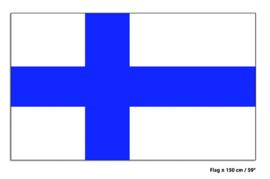 Vlag Finland - 90 x 150 cm (62460E)