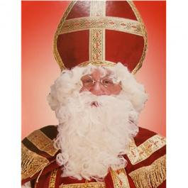 Kerstman-set Sint-set Wit (52708Ru)