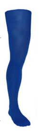 Panty volwassenen ruim Blauw (59069E)