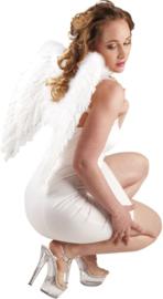 Vleugels engel Wit - 50 cm (52798B)