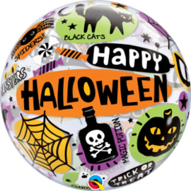 Bubble Halloween Messages & Icons (43433Q)