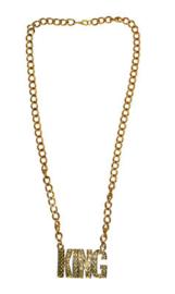 Gouden ketting King (53383E)