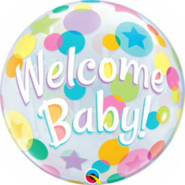 Bubble Welcome Baby Colorful Dots (25860Q)