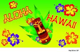 Vlag Aloha Hawaii -  90 x 150 cm (84242E)